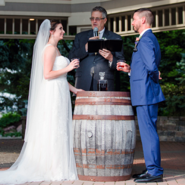 A Whiskey Ceremony after the Wedding Vows!